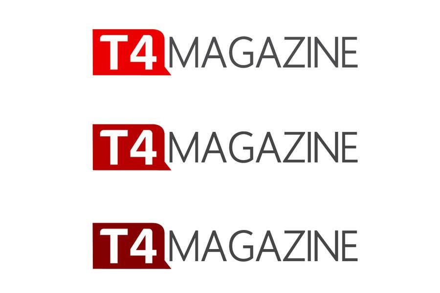 Penyertaan Peraduan #                                        214                                      untuk                                         Design a Logo for a tech news website