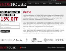 #23 para Website Design for The Shoehouse por Mustardseed777
