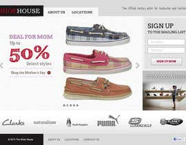 #8 pentru Website Design for The Shoehouse de către tuanrobo