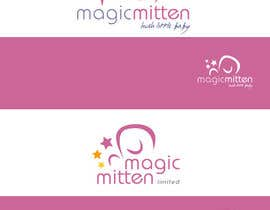 nº 139 pour Logo Design for Magic Mitten, baby calming aid par oscarhawkins