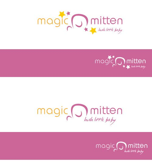 Конкурсная заявка №140 для Logo Design for Magic Mitten, baby calming aid
