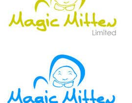 #102 para Logo Design for Magic Mitten, baby calming aid por oscarhawkins