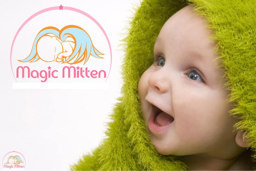 Contest Entry #                                        164                                      for                                         Logo Design for Magic Mitten, baby calming aid