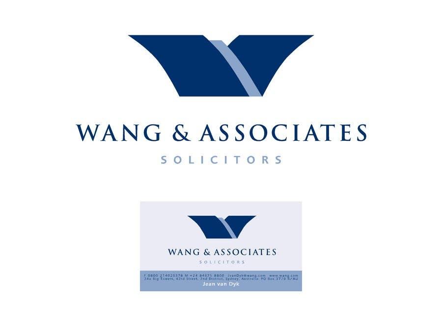 Bài tham dự cuộc thi #                                        101                                      cho                                         Logo Design for Wang & Associates Solicitors