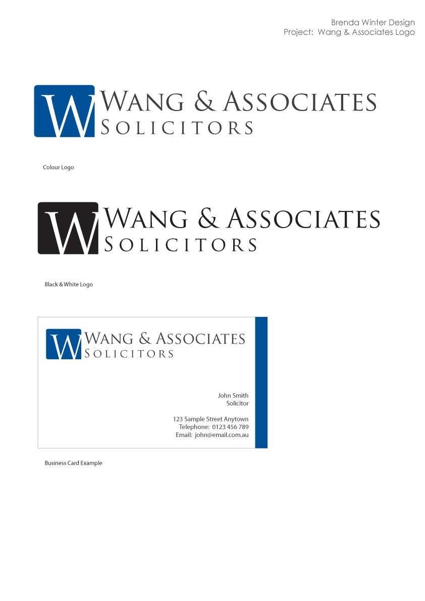 Bài tham dự cuộc thi #                                        2                                      cho                                         Logo Design for Wang & Associates Solicitors