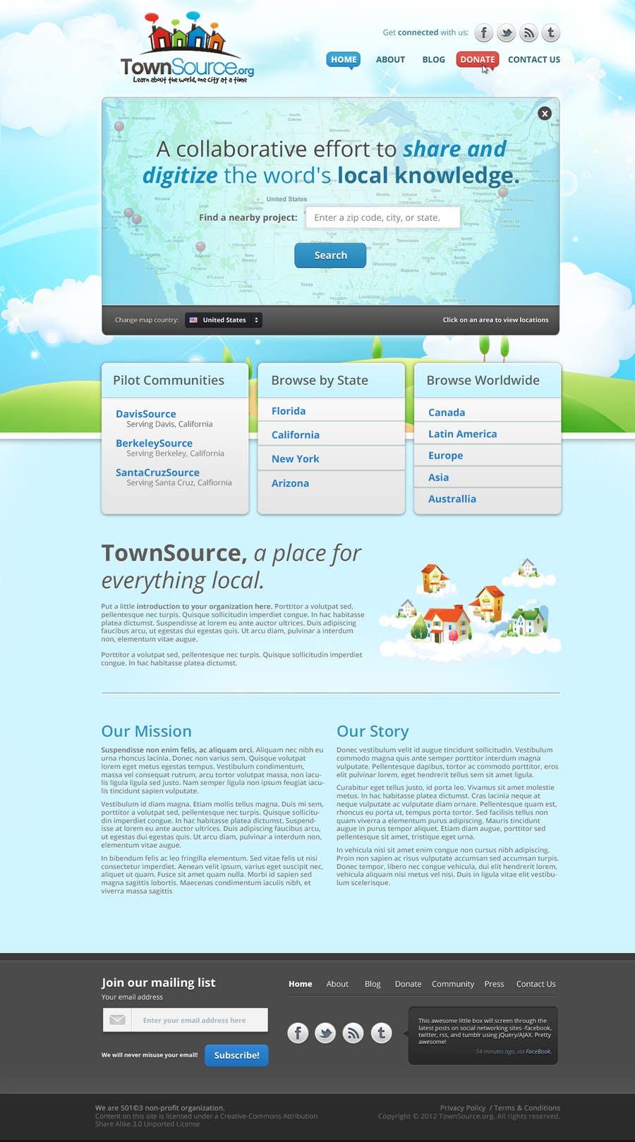 Penyertaan Peraduan #                                        26                                      untuk                                         Website Design for TS Project