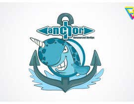 #105 for Sticker Design for Anchor by Ferrignoadv