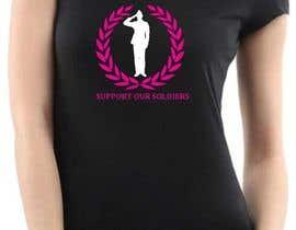 Nro 46 kilpailuun Design a T-Shirt that supports USA Military and/or USA Veterans käyttäjältä lidaong
