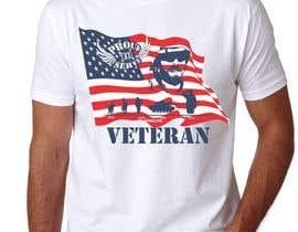 Nro 30 kilpailuun Design a T-Shirt that supports USA Military and/or USA Veterans käyttäjältä takackrist