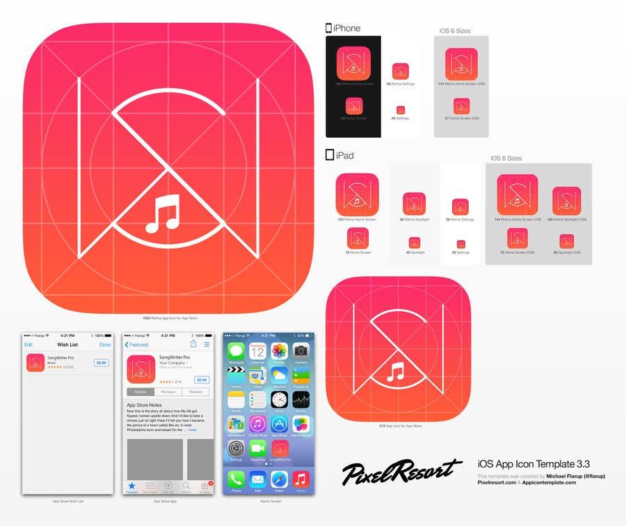 Inscrição nº                                         1                                      do Concurso para                                         App Icon re-design