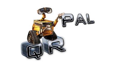 Penyertaan Peraduan #                                        325                                      untuk                                         Logo Design for QR Pal