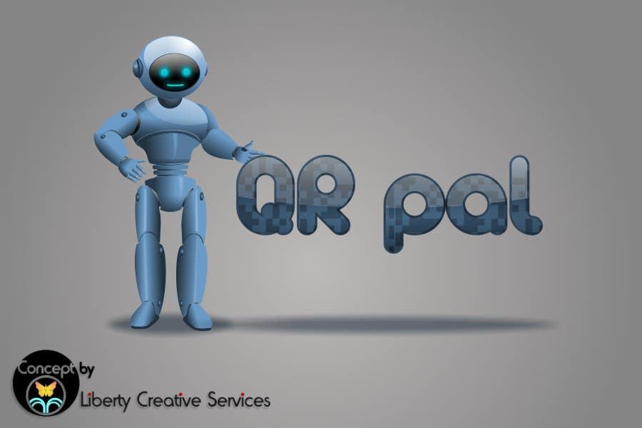 Penyertaan Peraduan #                                        74                                      untuk                                         Logo Design for QR Pal