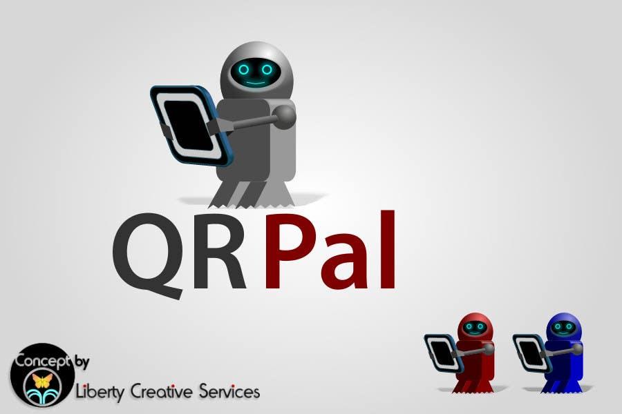 Penyertaan Peraduan #                                        232                                      untuk                                         Logo Design for QR Pal