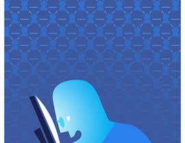 #21 para Social media addict. Design single-panel illustration or cartoon symbolizing a social media addict (multiple winners possible). por abdolilustrador