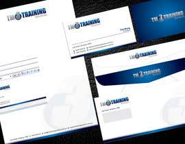 #34 para Stationery Design for TM3 Training Solutions por Brandwar