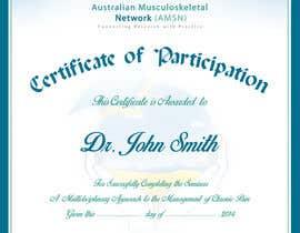 #9 para Certificate of attendance for our events por maraz2013