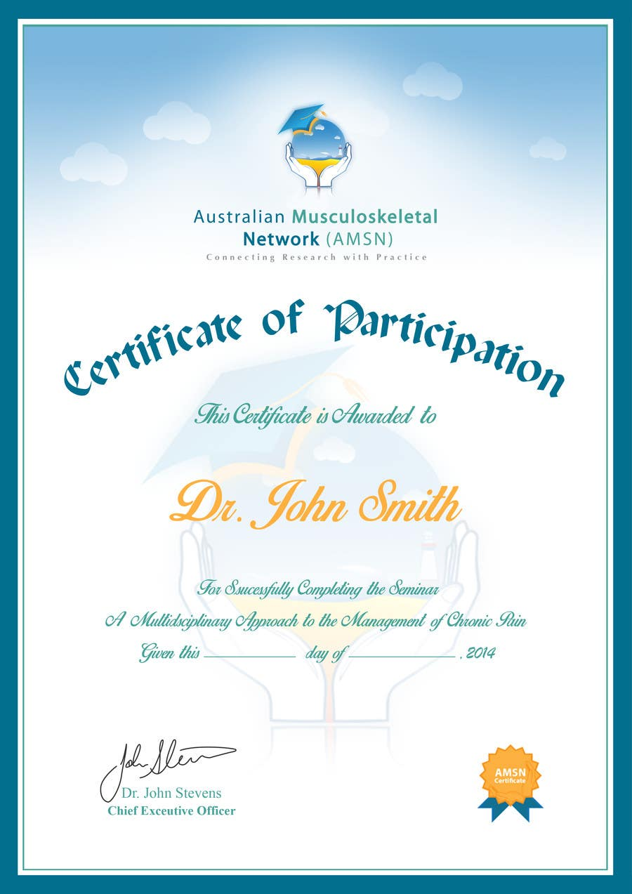 Inscrição nº                                         10                                      do Concurso para                                         Certificate of attendance for our events