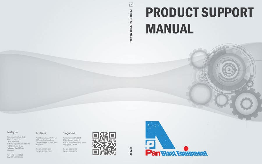 Konkurrenceindlæg #                                        1                                      for                                         New Brochures - Graphic Design for Pan Abrasives