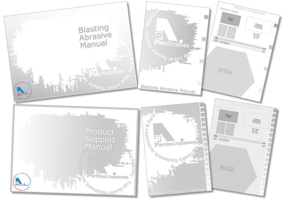 Konkurrenceindlæg #                                        16                                      for                                         New Brochures - Graphic Design for Pan Abrasives