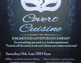 #15 para Design a Flyer for Silver Screen Supper por TayfunSen