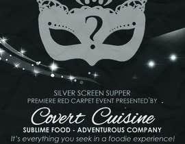 #1 para Design a Flyer for Silver Screen Supper por mthmb
