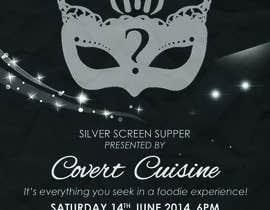 #10 para Design a Flyer for Silver Screen Supper por mthmb