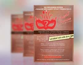 #7 para Design a Flyer for Silver Screen Supper por alinaamwebdesign