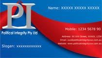 Graphic Design Konkurrenceindlæg #109 for Logo Design for Political Integrity Pty Ltd
