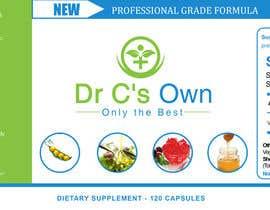 #15 for Doctor C's Own Health Supplements Label Design Contest! af stylishwork