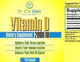 #5 for Doctor C's Own Health Supplements Label Design Contest! af designart65