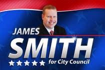 "Graphic Design Intrarea #90 pentru concursul ""Graphic Design for James Smith for City Council"""