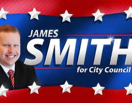 #79 untuk Graphic Design for James Smith for City Council oleh Ferrignoadv