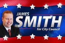 "Graphic Design Intrarea #87 pentru concursul ""Graphic Design for James Smith for City Council"""