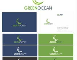 #723 para Logo and Business Card Design for Green Ocean por oxygenwebtech