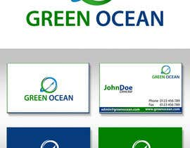 #574 para Logo and Business Card Design for Green Ocean por malakark