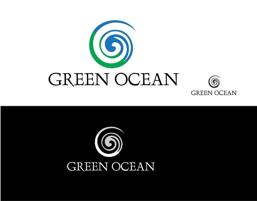 Penyertaan Peraduan #                                        730                                      untuk                                         Logo and Business Card Design for Green Ocean