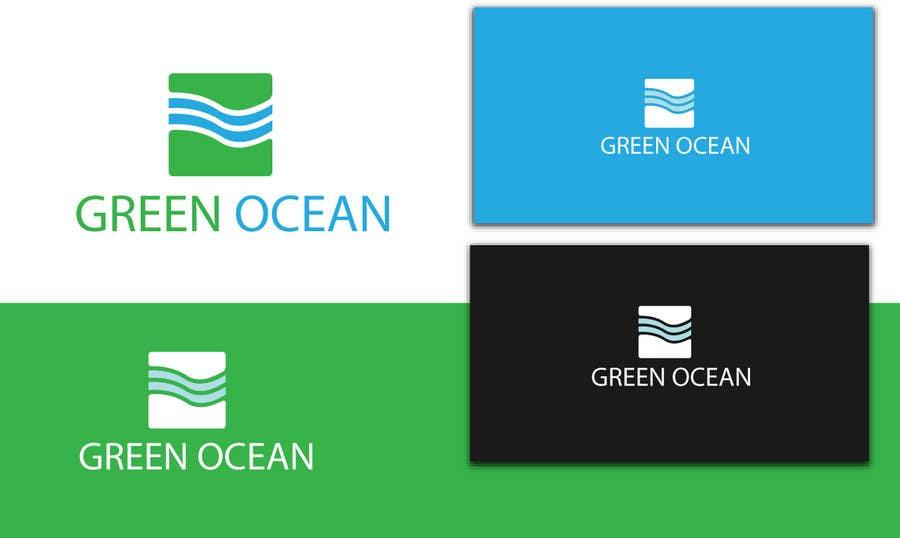 Penyertaan Peraduan #                                        550                                      untuk                                         Logo and Business Card Design for Green Ocean