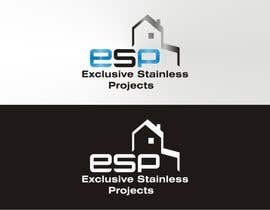 #100 para Logo Design for Exclusive Stainless Projects por Qomar