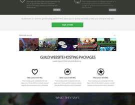 #19 for Design a Website for Game Guild Hosting Company af Pavithranmm