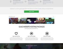 #26 for Design a Website for Game Guild Hosting Company af Pavithranmm