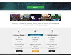 #38 for Design a Website for Game Guild Hosting Company af Pavithranmm