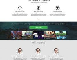 #39 for Design a Website for Game Guild Hosting Company af Pavithranmm