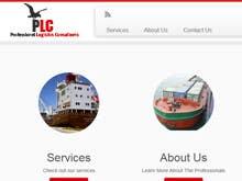 Penyertaan Peraduan #                                        7                                      untuk                                         Design a Logo for Shipping and logistics consultants website