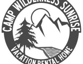 Mjauu tarafından Logo Design for Camp Wilderness Sunrise için no 108