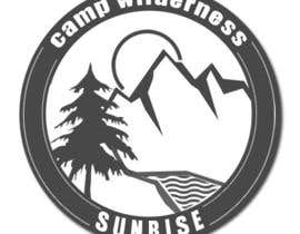 nº 103 pour Logo Design for Camp Wilderness Sunrise par Mjauu