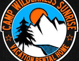 Mjauu tarafından Logo Design for Camp Wilderness Sunrise için no 118