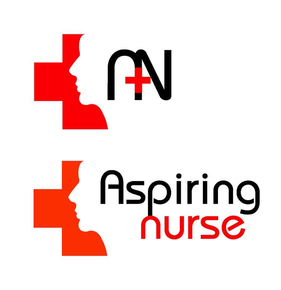 Kilpailutyö #                                        82                                      kilpailussa                                         Logo design for aspiring nurse
