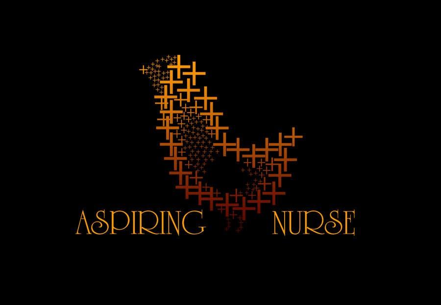 Kilpailutyö #                                        35                                      kilpailussa                                         Logo design for aspiring nurse