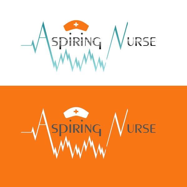 Kilpailutyö #                                        46                                      kilpailussa                                         Logo design for aspiring nurse