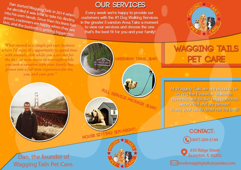 Contest Entry #                                        2                                      for                                         Design a brochure for a pet care company